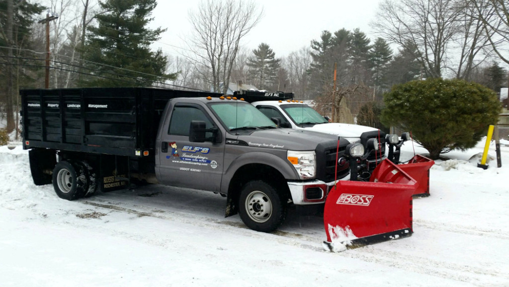Snow Removal - Snow Plow Trucks