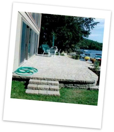 Patios and Walkways Wolfboro Landscape service
