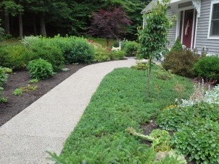 landscape gallery strafford nh front walkway