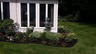 Landscaping front yard Flower garden