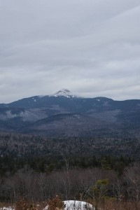 Snow Covered Mountain - New Hampshire