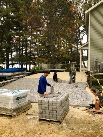 Paver Driveway - Wolfeboro landscaping driveway